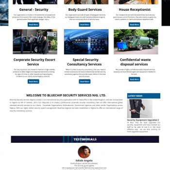 Bluechip Website